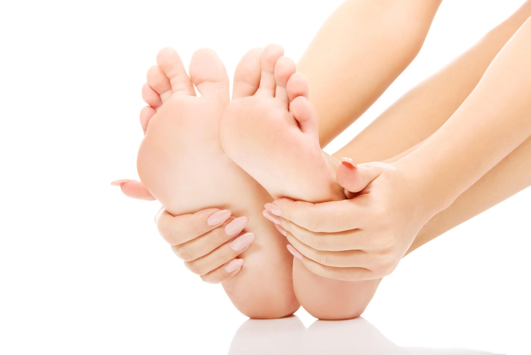 keep feet soft