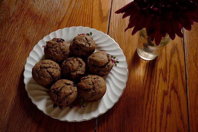 Navratri Fast Recipe - Eggless Buckwheat Banana Muffins