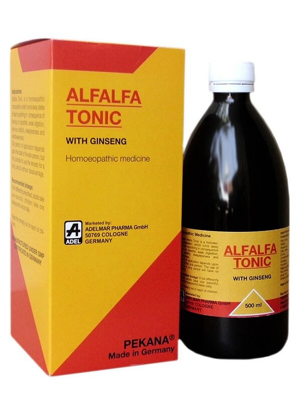 Alfalfa tonic for weight gain