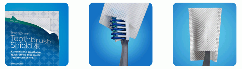 IntelliDent Toothbrush Shield