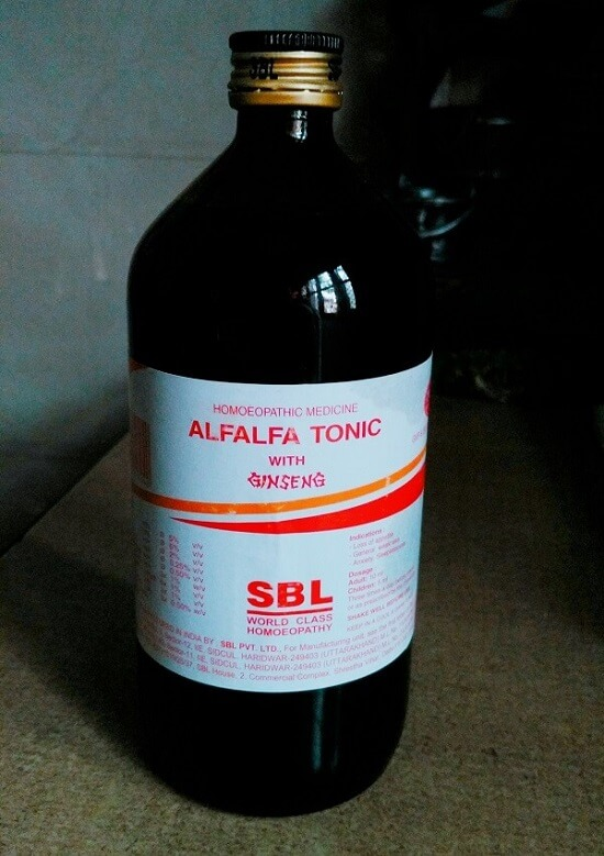 alfalfa tonic review