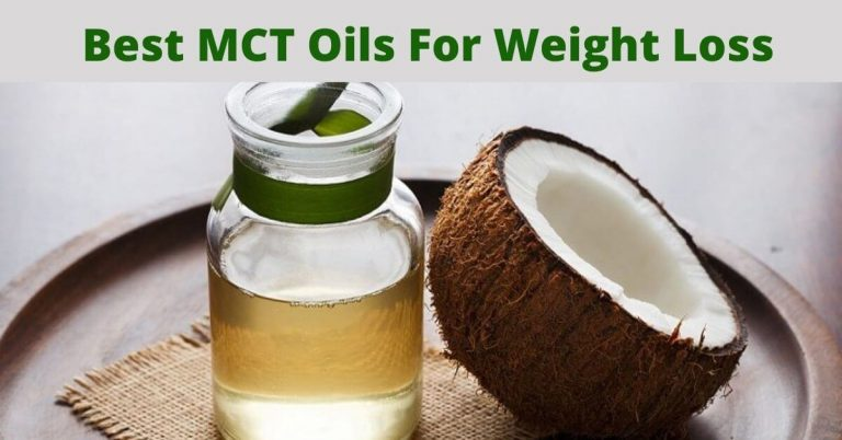 Best MCT Oils For Weight Loss