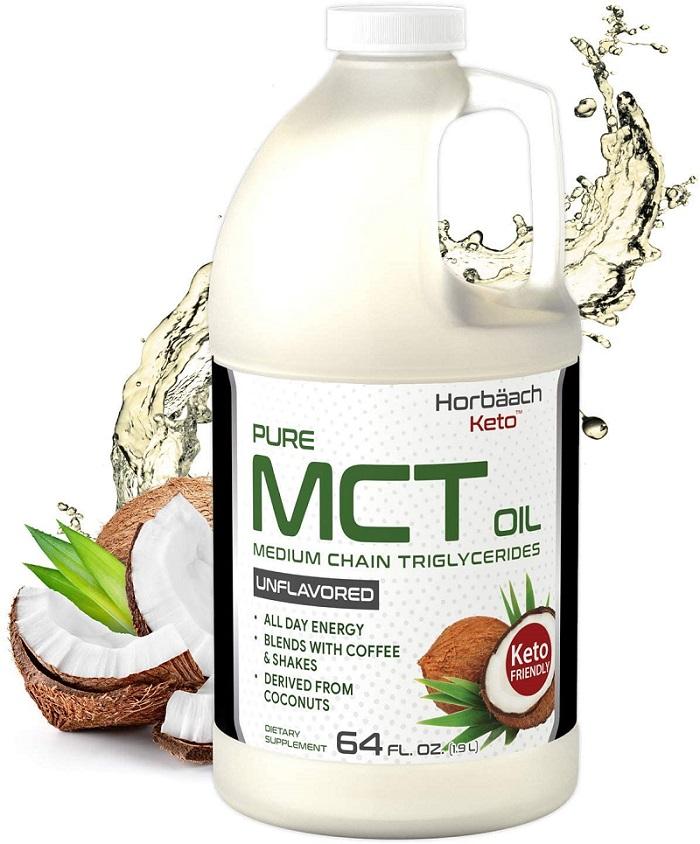 Keto MCT Oil 64 oz by Horbaach