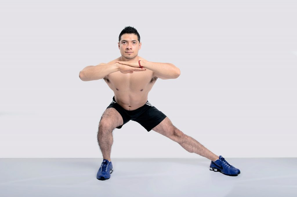 Lateral Strides exercise